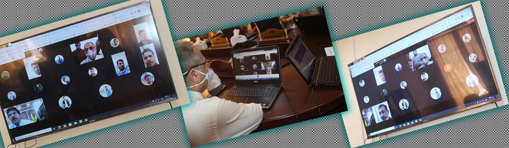 رئيس جامعة تكريت يتابع سير الإمتحانات النهائية في كلية التربية الأساسية الشرقاط.